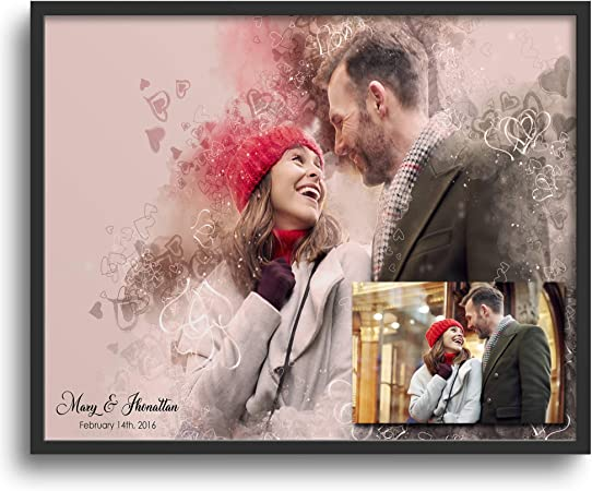 Valentines Gift Personalised Gift Ideas Valentines Gift For Him Valentines Gift Valentines Gift For Her Love Couples Decorative Poster