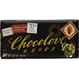 Chocolove Strong Dark Chocolate Bar , 3.2 oz
