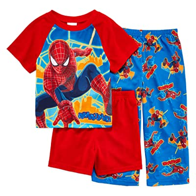 Amazing Spider-Man Toddlers 3 Piece Pajama Set Sizes 2T-4T