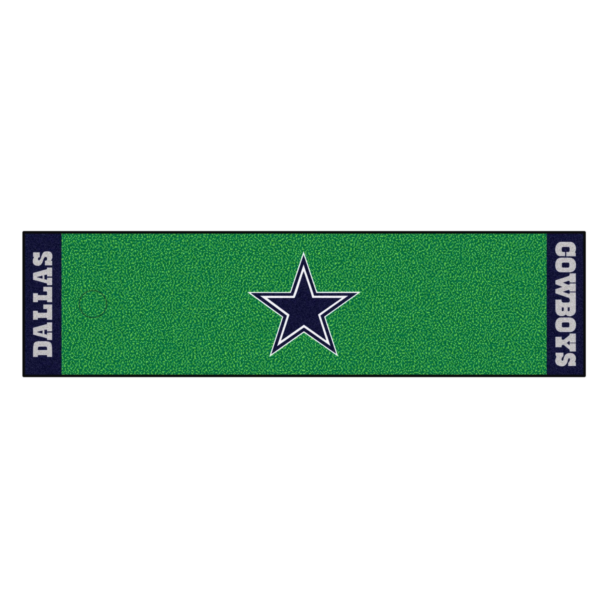 Fanmats NFL Dallas Cowboys Nylon Face Putting Green Mat