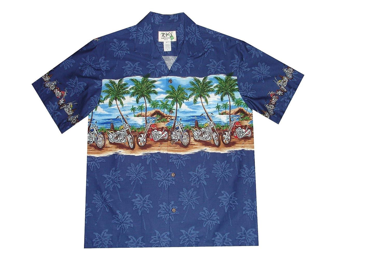 Harley Davidson Mens Hawaiian Button Shirt