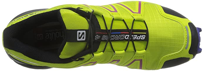 Salomon L39185900, Zapatillas de Trail Running para Mujer, Verde (Gecko Green/Spectrum Blue/Black), 36 2/3 EU