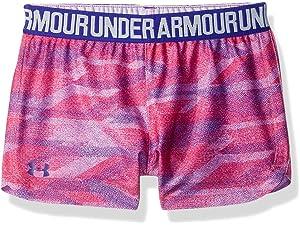 Under Armour Girls Baby Play Up Short Penta Pink 24M