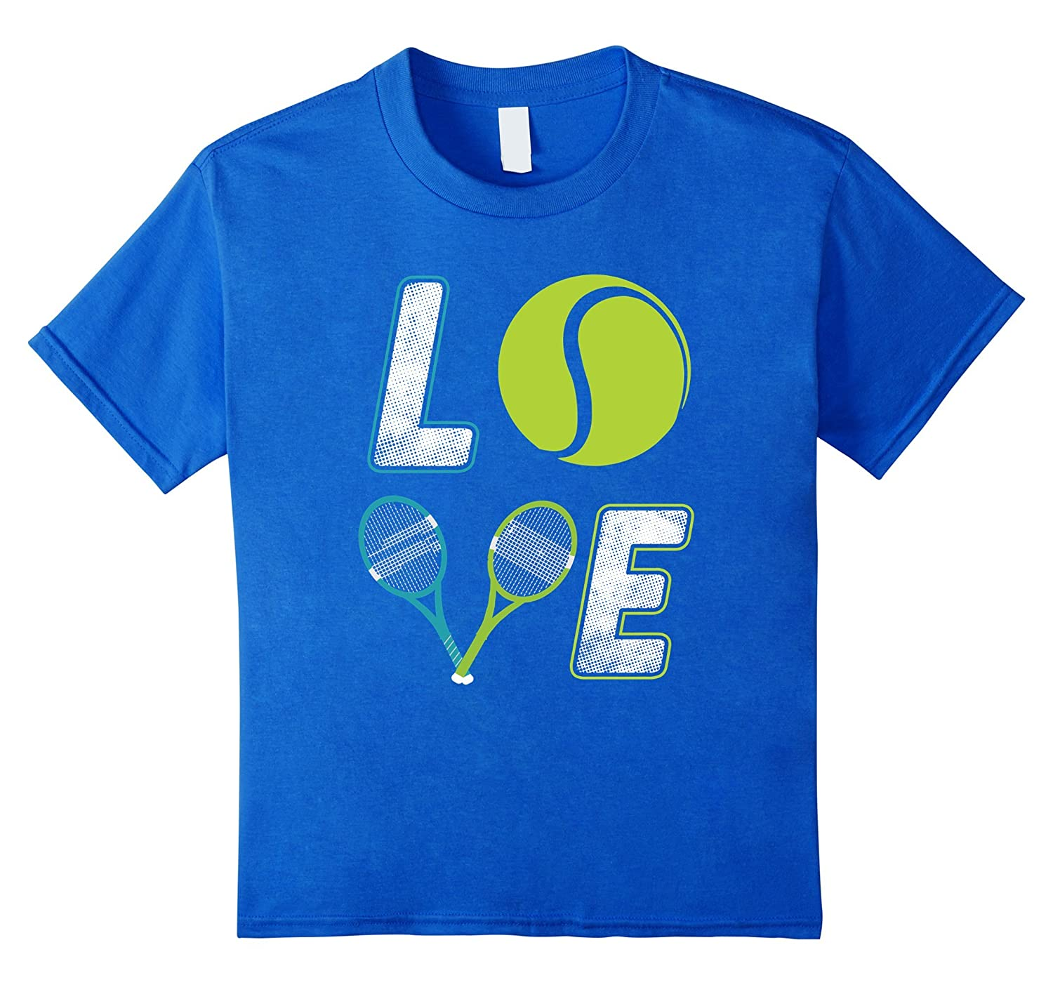 Tennis Player Love Tennis T Shirt-Teehay