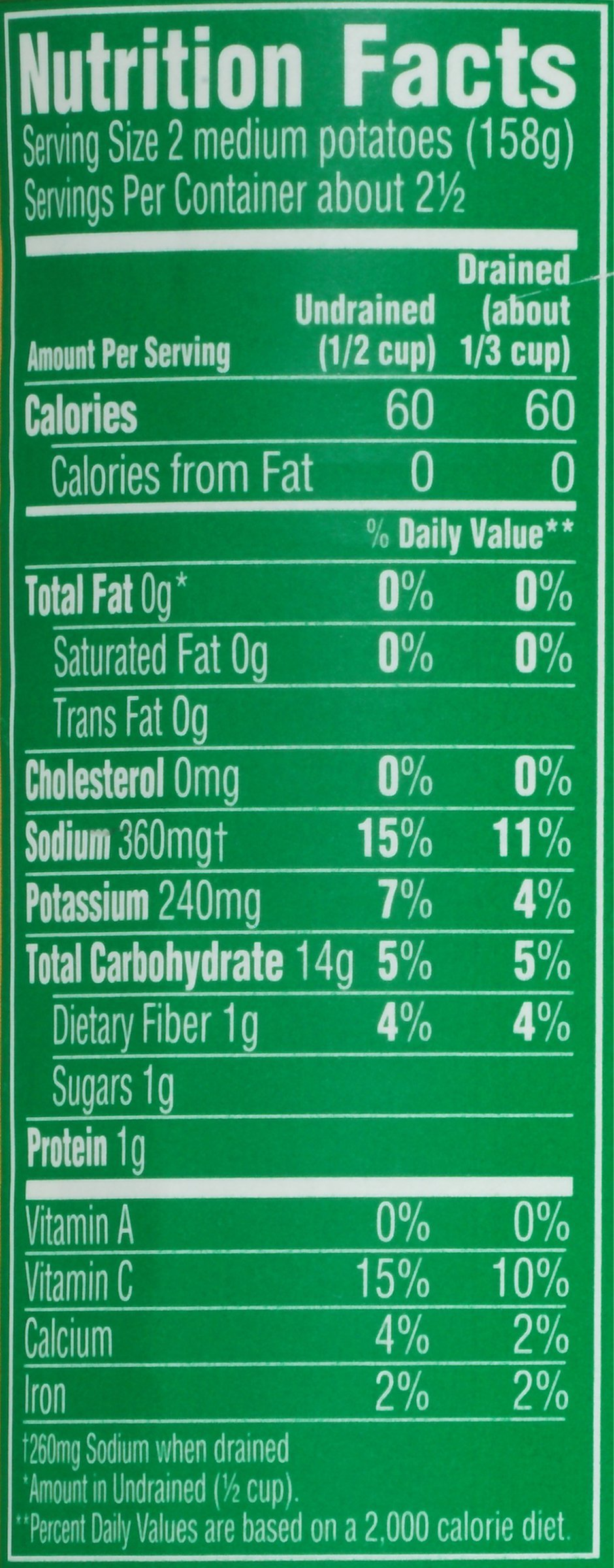 Del Monte Canned Fresh Cut Whole New Potatoes, 14.5-Ounce (Pack of 12) by Del Monte