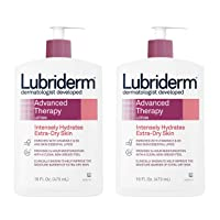 Lubriderm Advanced Therapy Moisturizing Lotion with Vitamins E and B5, Deep Hydration...