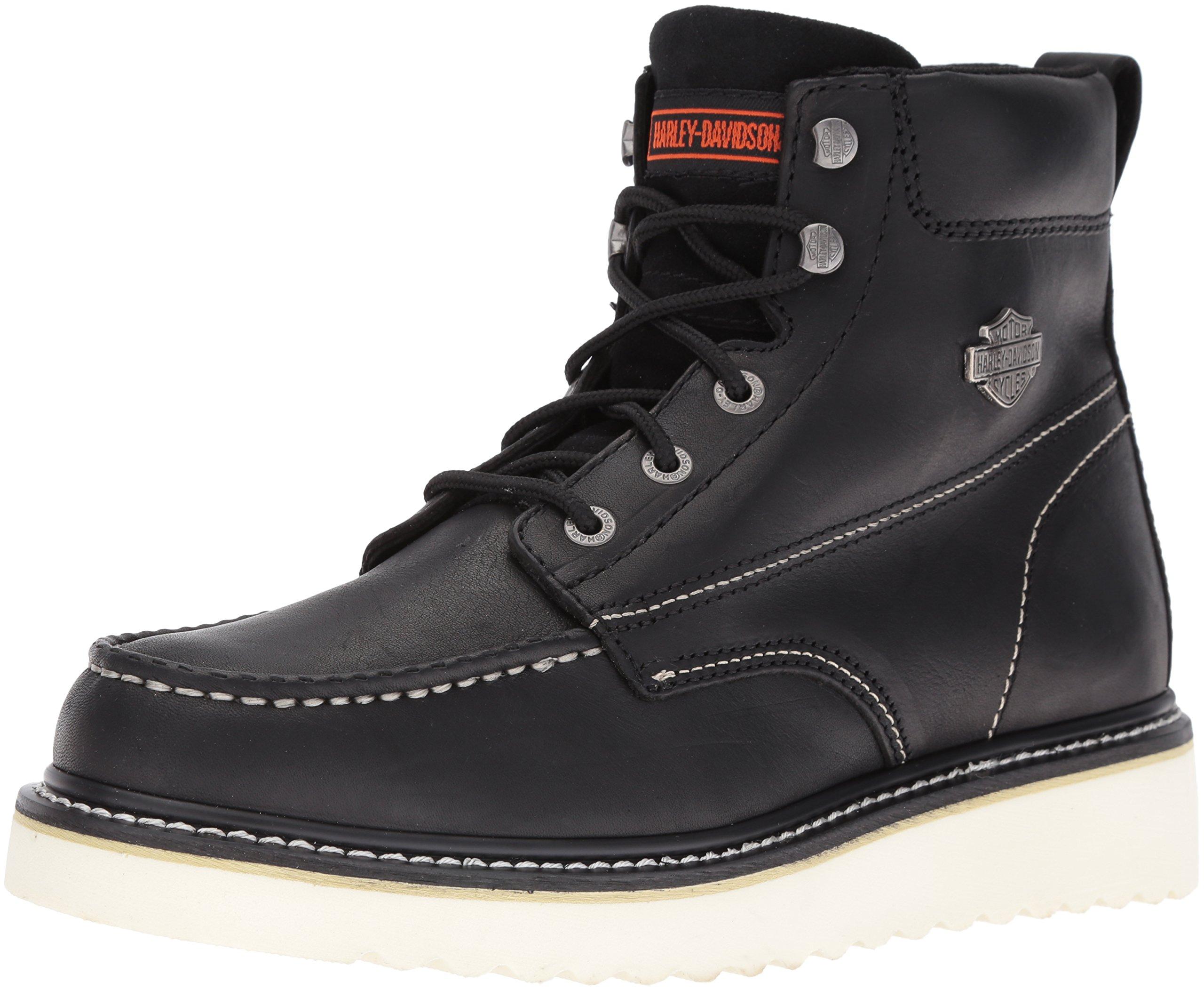 Harley-davidson Men's Candler Work Boot, Black, 10 M US
