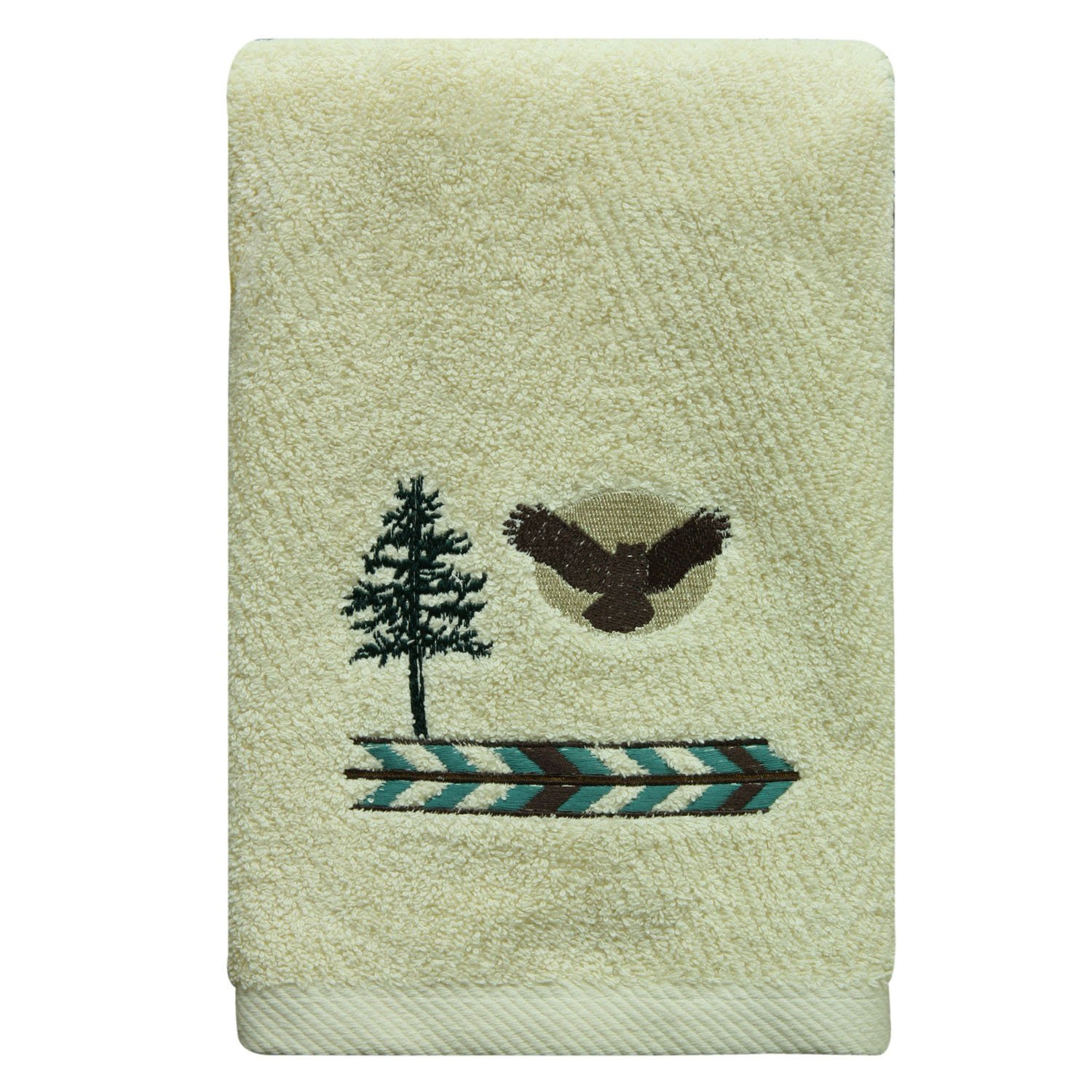 Bacova Guild 48455 Discover The Wild Hand Towel