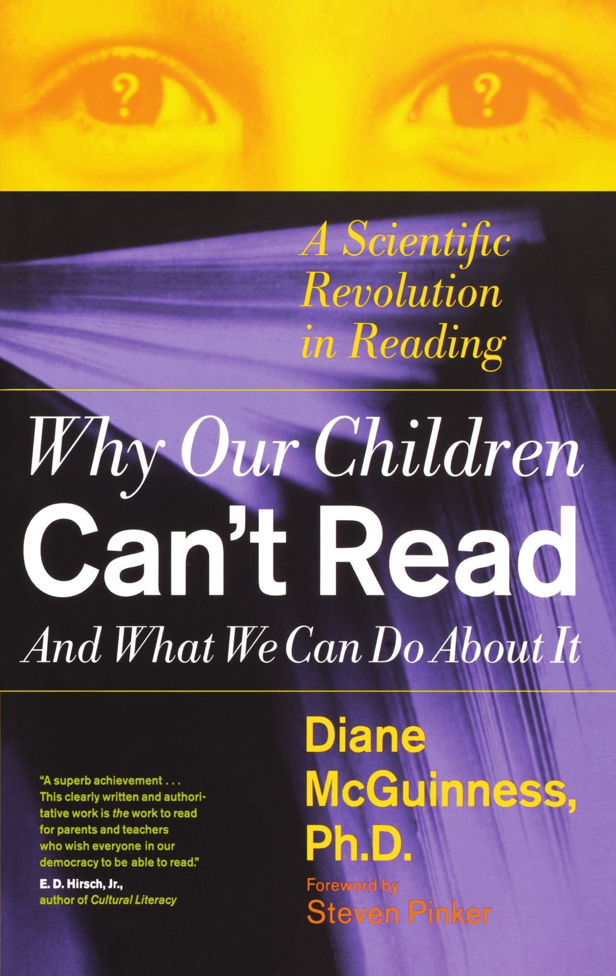 Why Millions Of Kids Cant Read And What >> Amazon Com Why Our Children Can T Read And What We Can Do