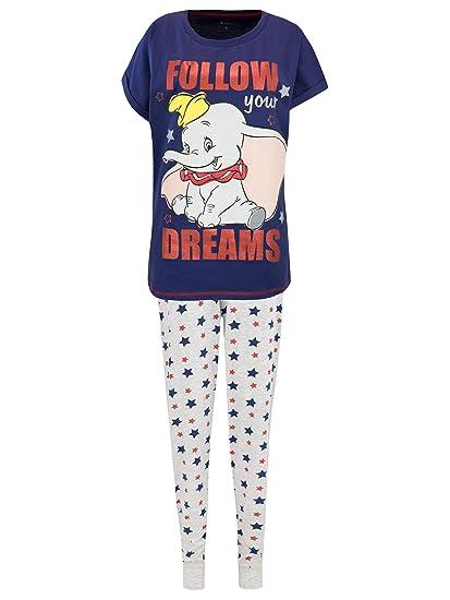 5f88fffcc4a76 Disney - Ensemble De Pyjamas - Dumbo - Femme: Amazon.fr: Vêtements ...