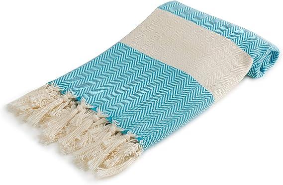Cozy Herringbone Original 100 Turkish Cotton Hand Towel 24 5 X 39 Peshtemal Towel For Gym Spa Yoga Camp Kitchen Fall Face Towel Boho Eco Friendly Maldives Blue Hand Towel Size