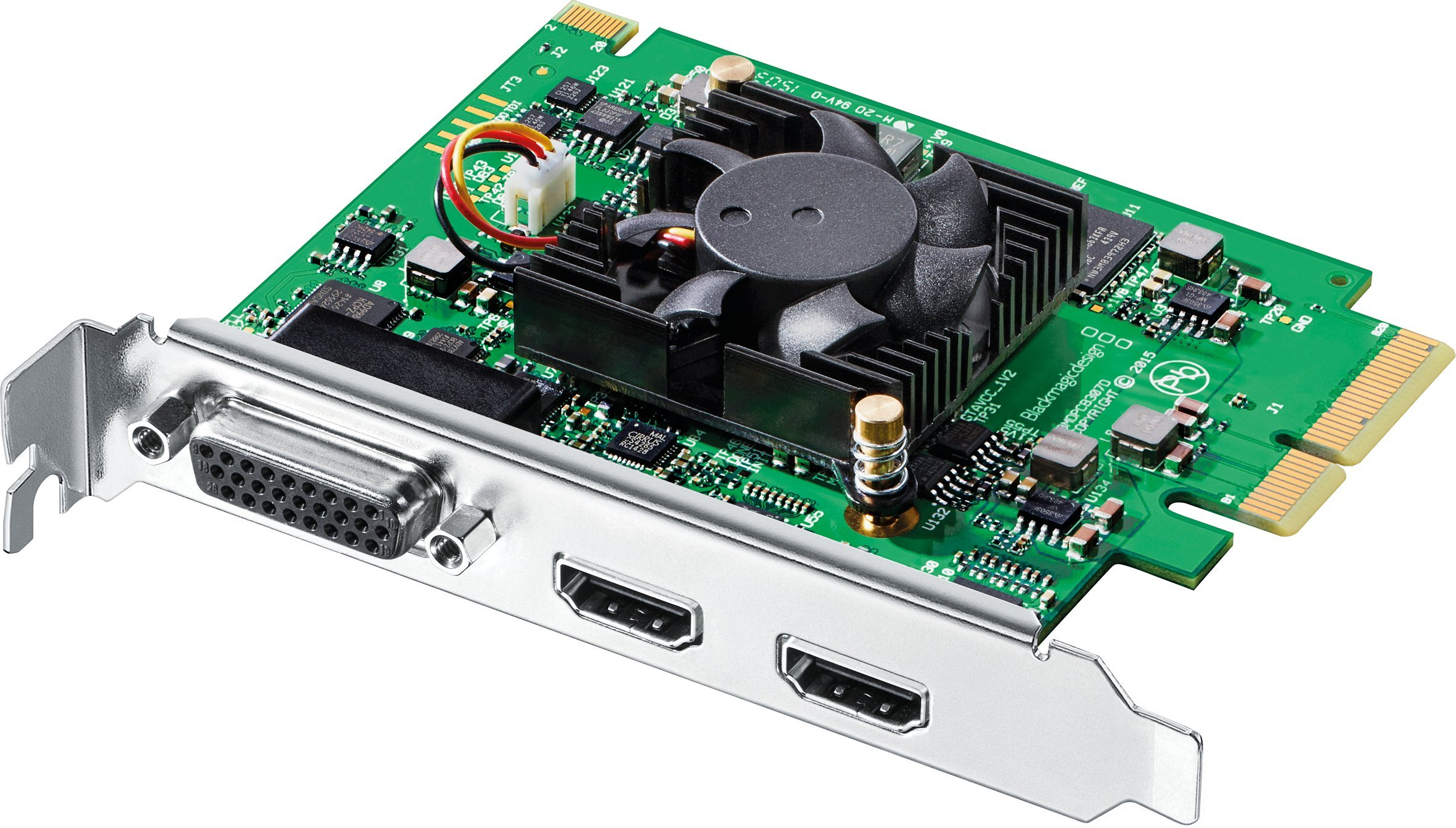 Blackmagic Design Intensity Pro 4K Capture & Playback Input/Output Card, Ultra HD at 30fps and 1080p at 60fps by Blackmagic Design