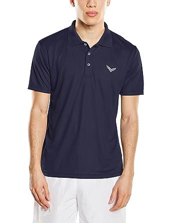 Trigema Herren Poloshirt 644601, Gr. XXXXX-Large, Blau (Navy 046)
