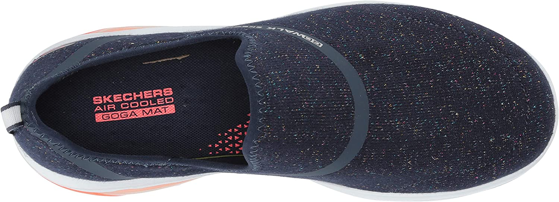 Skechers Women's Go Walk Air-16097 Sneaker Navy/Coral
