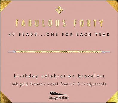 14K Gold Dipped Beads Bracelet