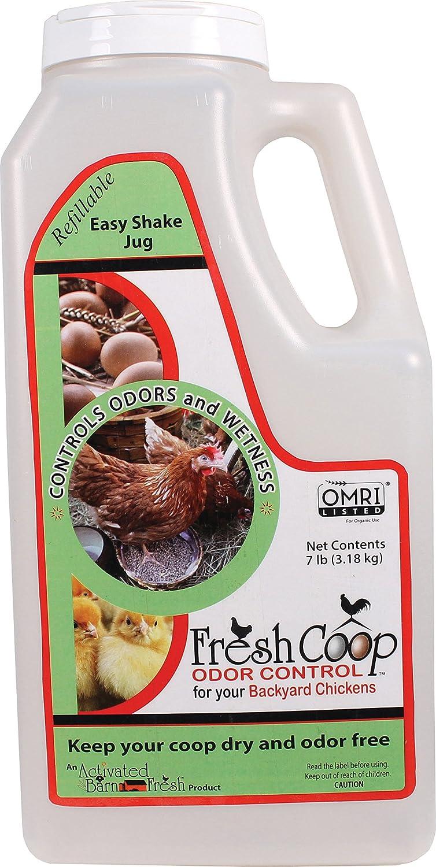 amazon com fresh coop odor control for backyard chickens 7 lb