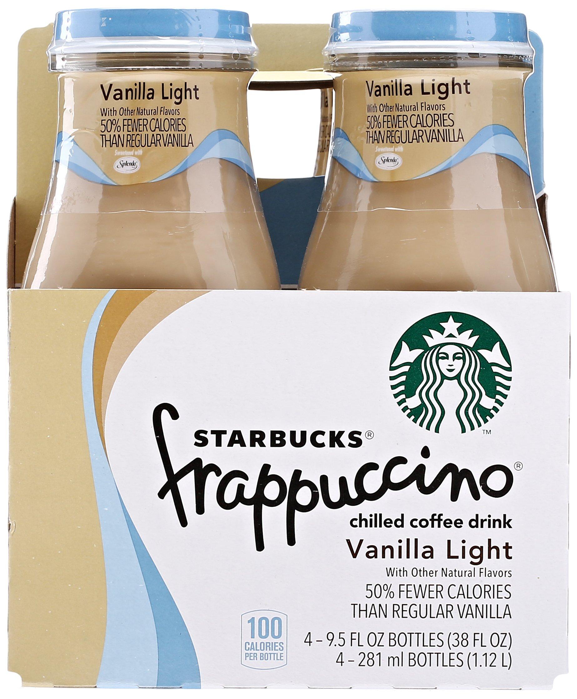 Starbucks Frappuccino Vanilla Light, 4ct, 9.5oz