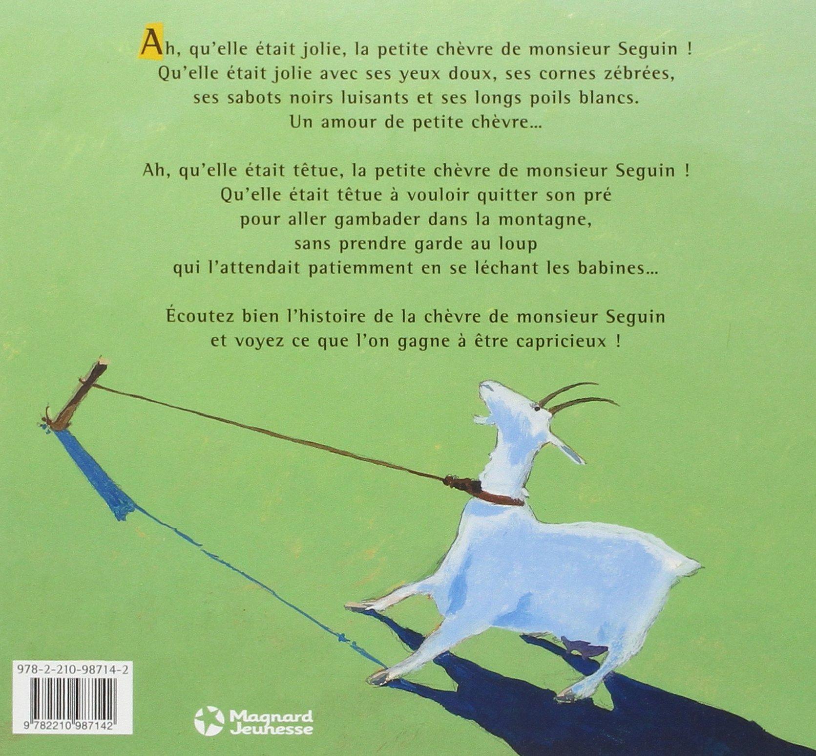 Uncategorized Monsieur Seguin la chevre de monsieur seguin french edition alphonse daudet arnaud madelenat 9782210987142 amazon com books