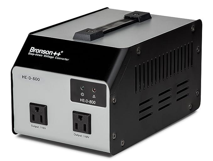 24 opinioni per Bronson++ HE-D 800- 110/120 Volt USA trasformatore di tensione- 800 Watt-