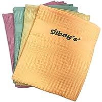 Ilbays ściereczki do czyszczenia z mikrofibry, 4 szt.
