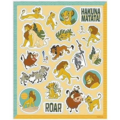 Unique Disney The Lion King Party Sticker Sheets, 4 Ct.: Toys & Games