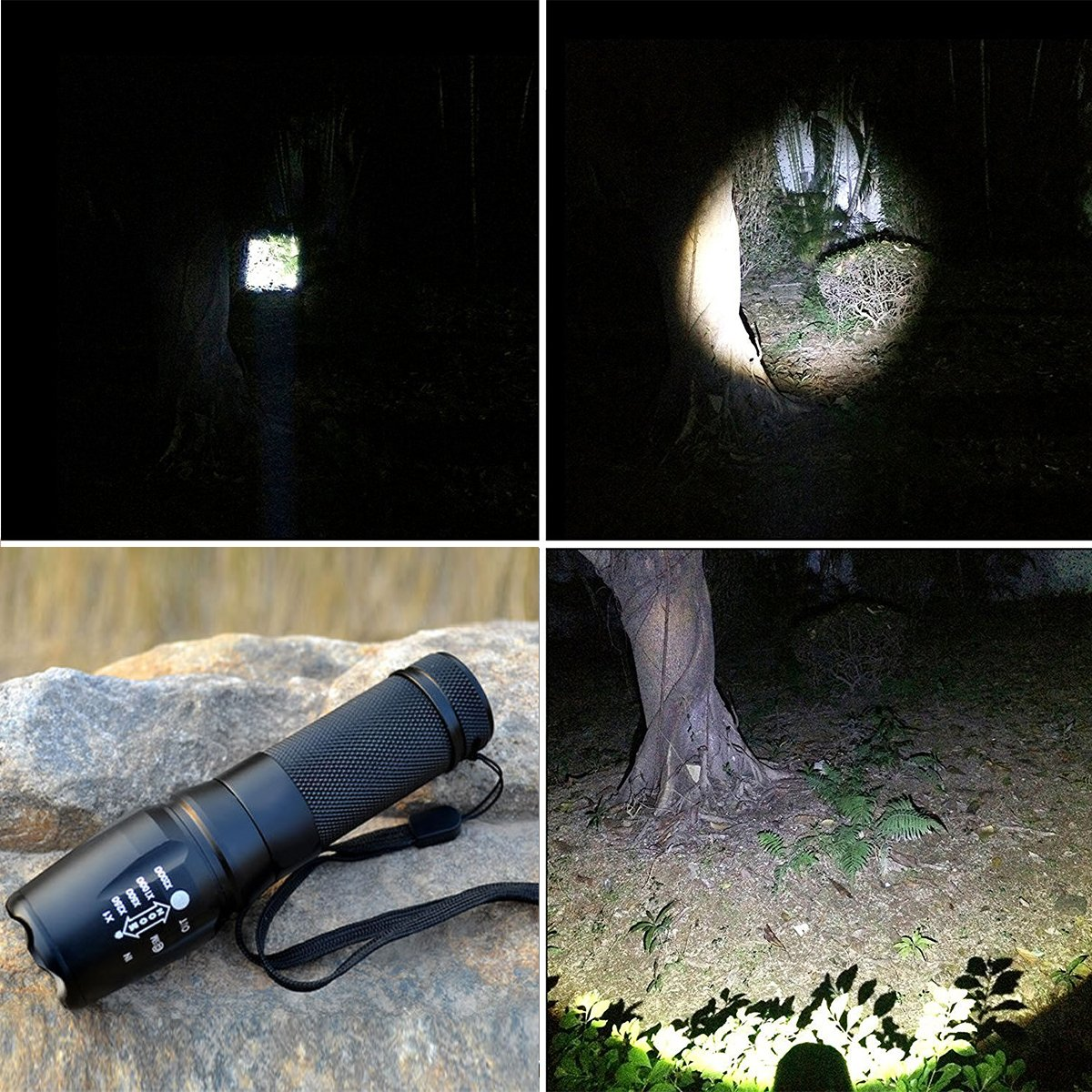 TOPIA STAR Powerful Flashlight, Professional Outdoor Warerproof Rechargeable Led Flashlight by TOPIA STAR (Image #6)