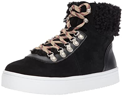 5fa73063849f Sam Edelman Women s Luther Sneaker Black 5 Medium US