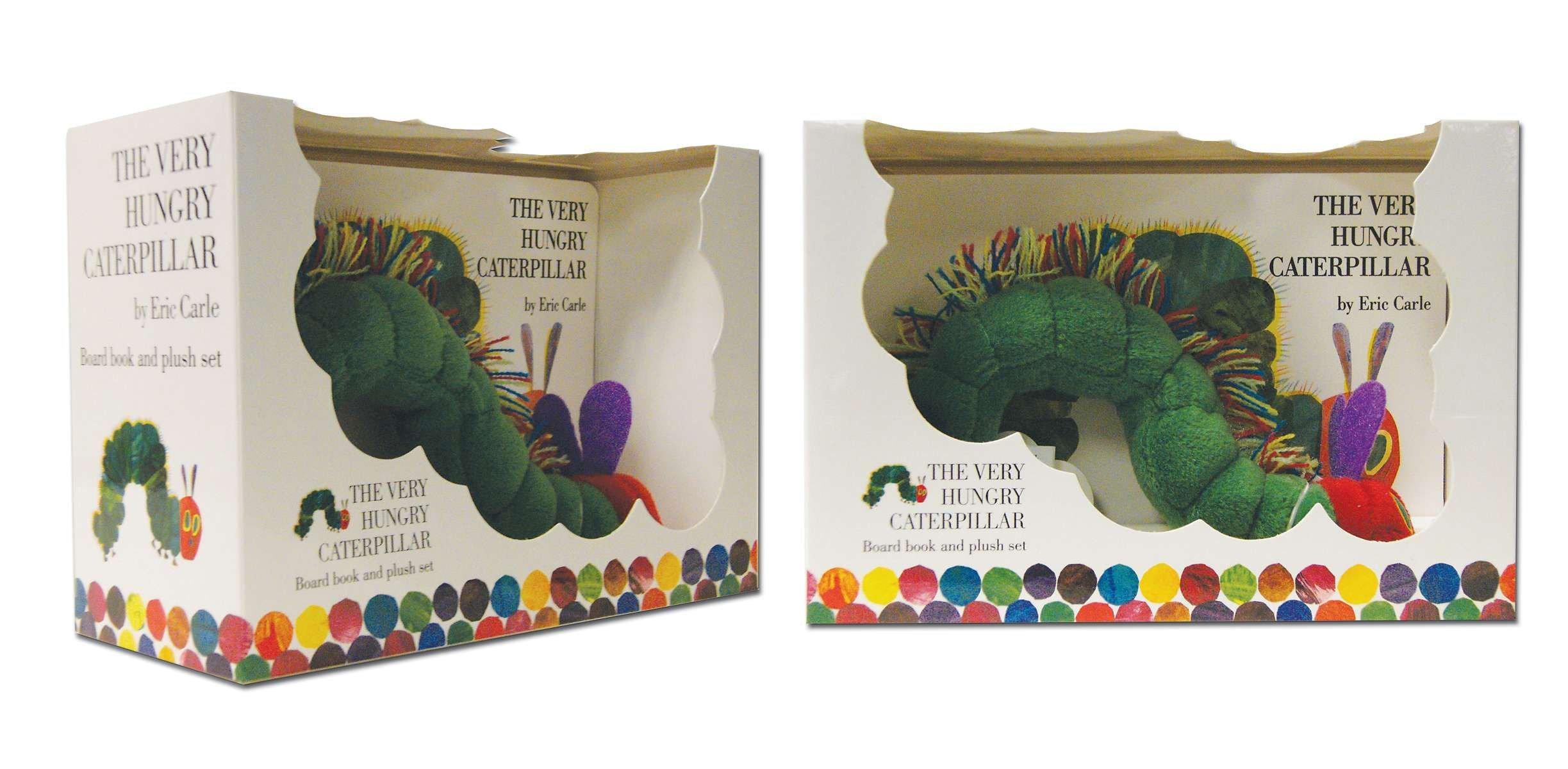 bc567b5cb5dfb Amazon.com  The Very Hungry Caterpillar Board Book and Plush ...