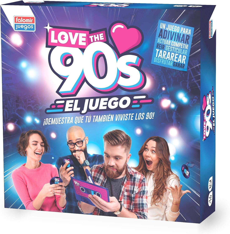 Falomir 90´S Love The 90s, Juego de Mesa, Family & Friends, Color ...