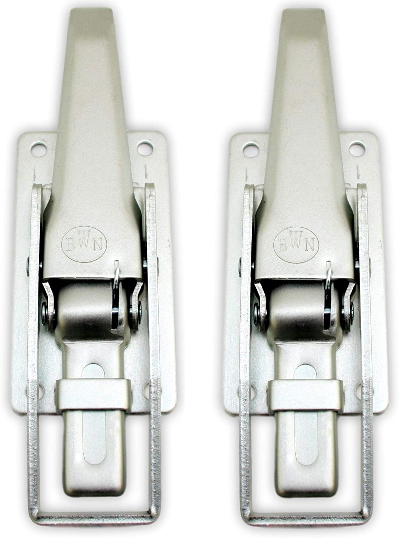 P4u 2x Spannverschluss Riegelspannverschluss 280 X 80 X 30 Mm Bordwandverschluss Anhänger Trailer Ladesicherung Verschluß Verschluss Spannverschluss Auto