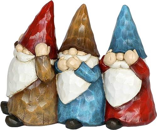 Exhart Gnomes See No Evil Statue