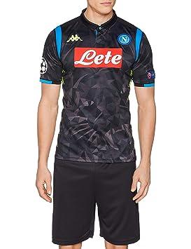 SSC Napoli Europa Gara Away, Camiseta de manga corta Replica ...