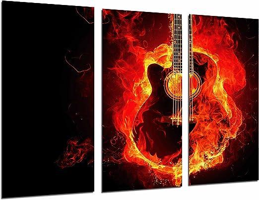 Poster Fotográfico Decoracion Musical Guitarra Negra Española ...