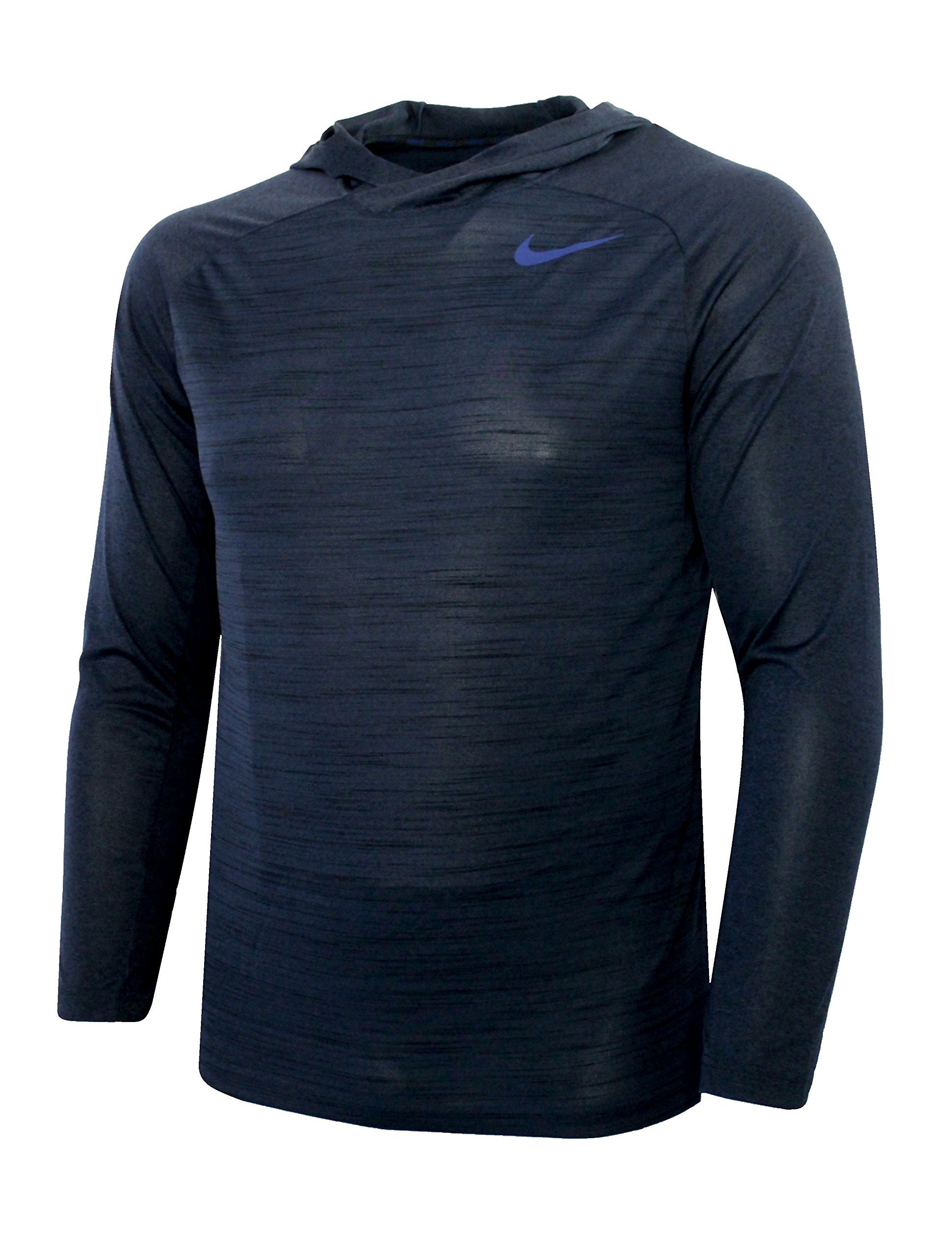 970ecf9d1d1d Galleon - Nike Mens Dri-fit Touch Long Sleeve Training Hoodie Navy (LARGE)