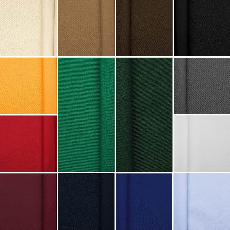 Stoff Meterware Farbe: wei/ß K/öpertex 65 /% Baumwolle // 35 /% Polyester kochfest Berufsk/öper