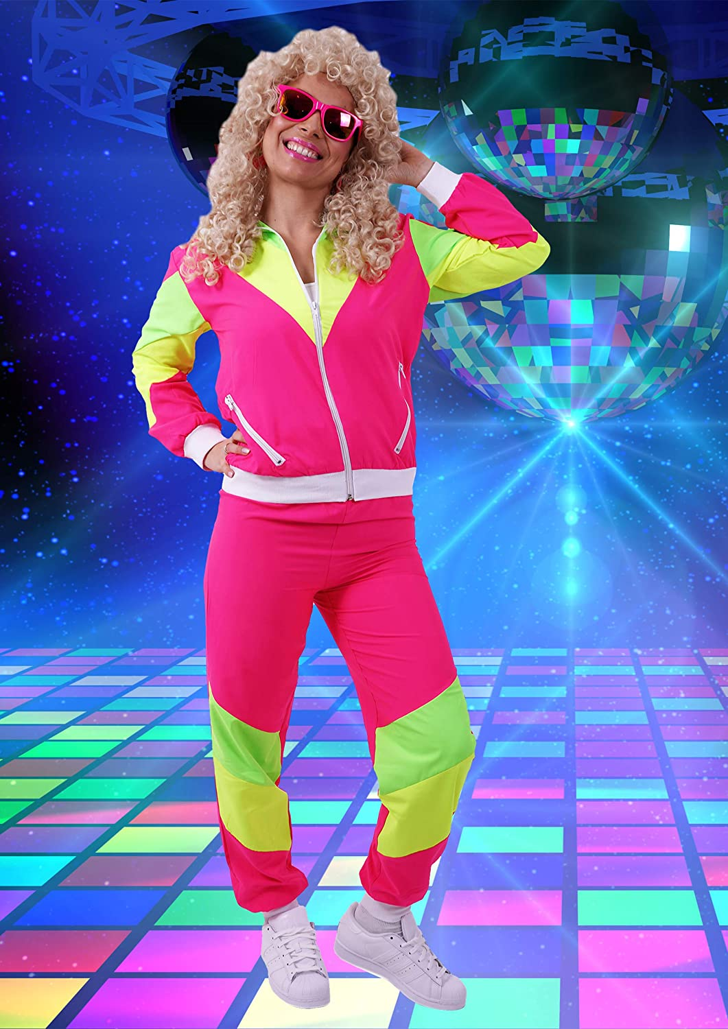 80s Costumes for Men//Windbreaker and Pants 90s Shell Suit Party Dress Costume//Retro Tracksuit 80s 90s Hip Hop Costumes