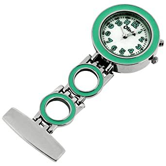 Mint Nurses Fob Watch With Backlight Pin On Pocket For