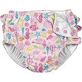I play(アイプレイ) オムツ機能付き 水遊びパンツ スイムダイパー スイミングパンツ 女の子 Pink Sealife XL:24ヶ月(11.5-13.5kg) 711080-2308-45