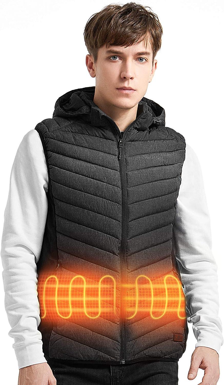 AKASO Mens Nomad Battery Heated Vest/…