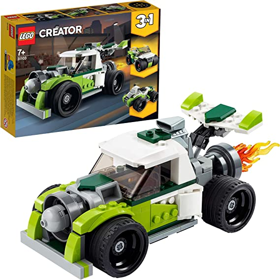 LEGO Creator 3in1 Rocket Truck 31103 Building Kit