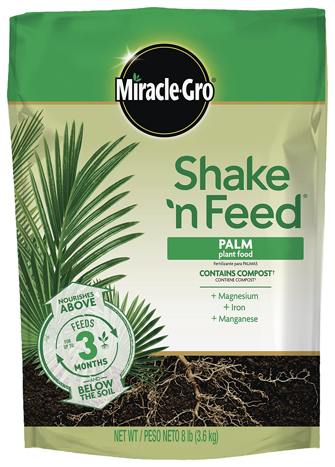 Amazon.com : Miracle-Gro 3003010 8Lb Mg Palm Plant Food, 8 LB : Garden & Outdoor