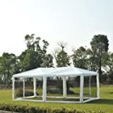 Outsunny 10' x 20' Canopy Gazebo Party Tent w/Mesh Side Walls