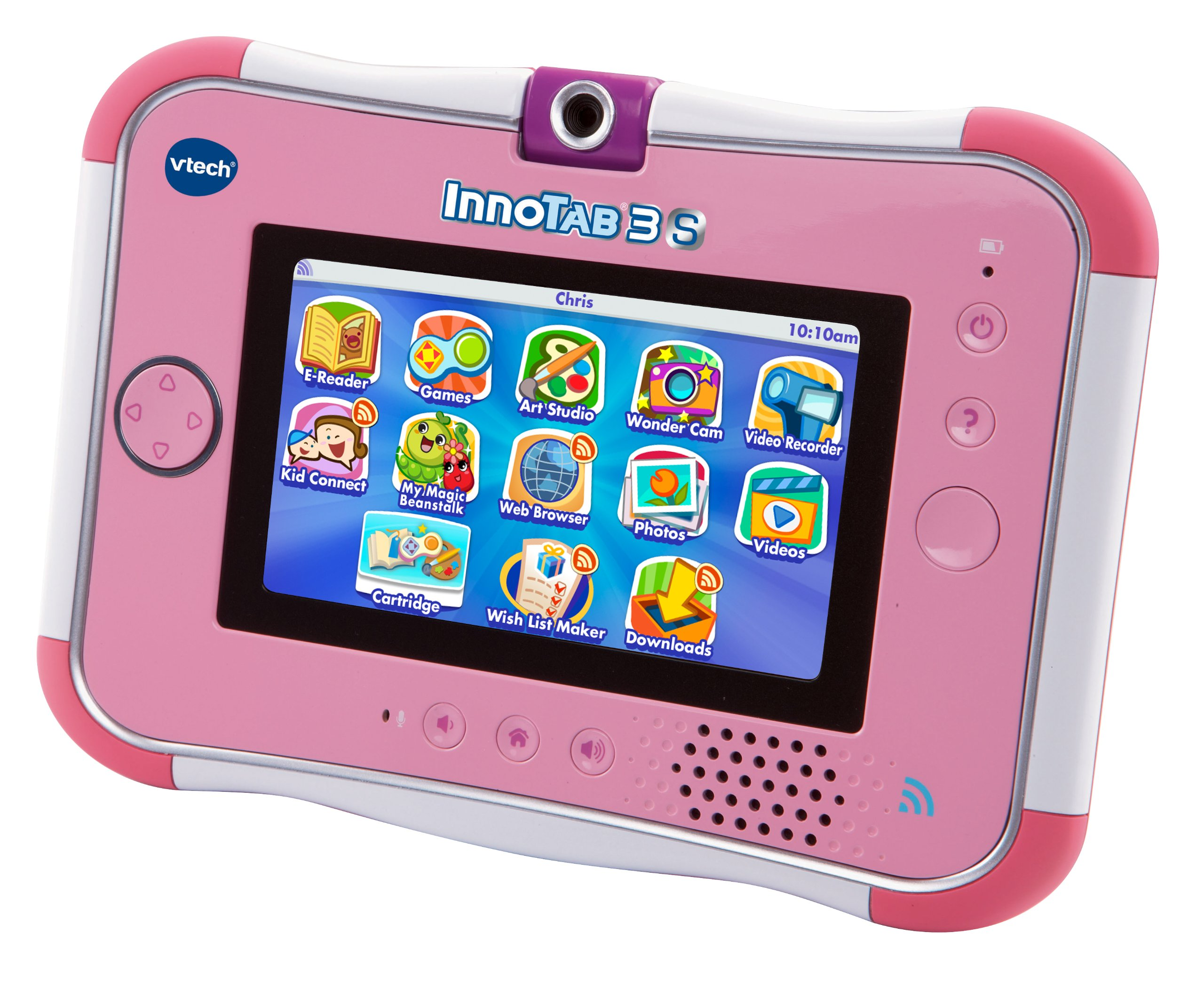 VTech InnoTab 3S Kids Tablet, Pink by VTech (Image #2)