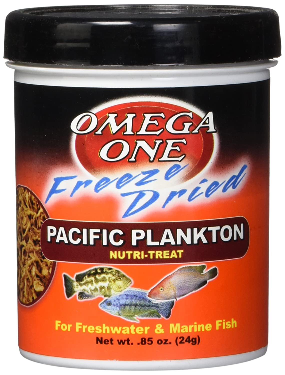 Omega One Freeze Dried Pacific Plankton 0.85 Oz by Omega One B008UWJ4PW