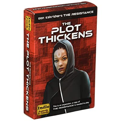 Indie Boards and Cards The Resistance - The Plot Thickens Game: Toys & Games [5Bkhe1901155]