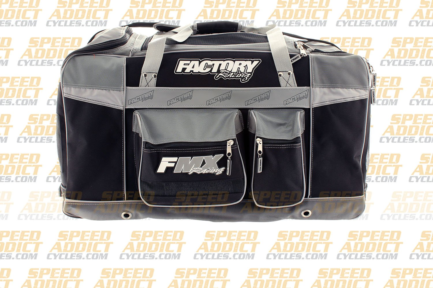 Factory FMX Motorcross Gear Bag XLarge Grey by Factory Racing (Image #5)