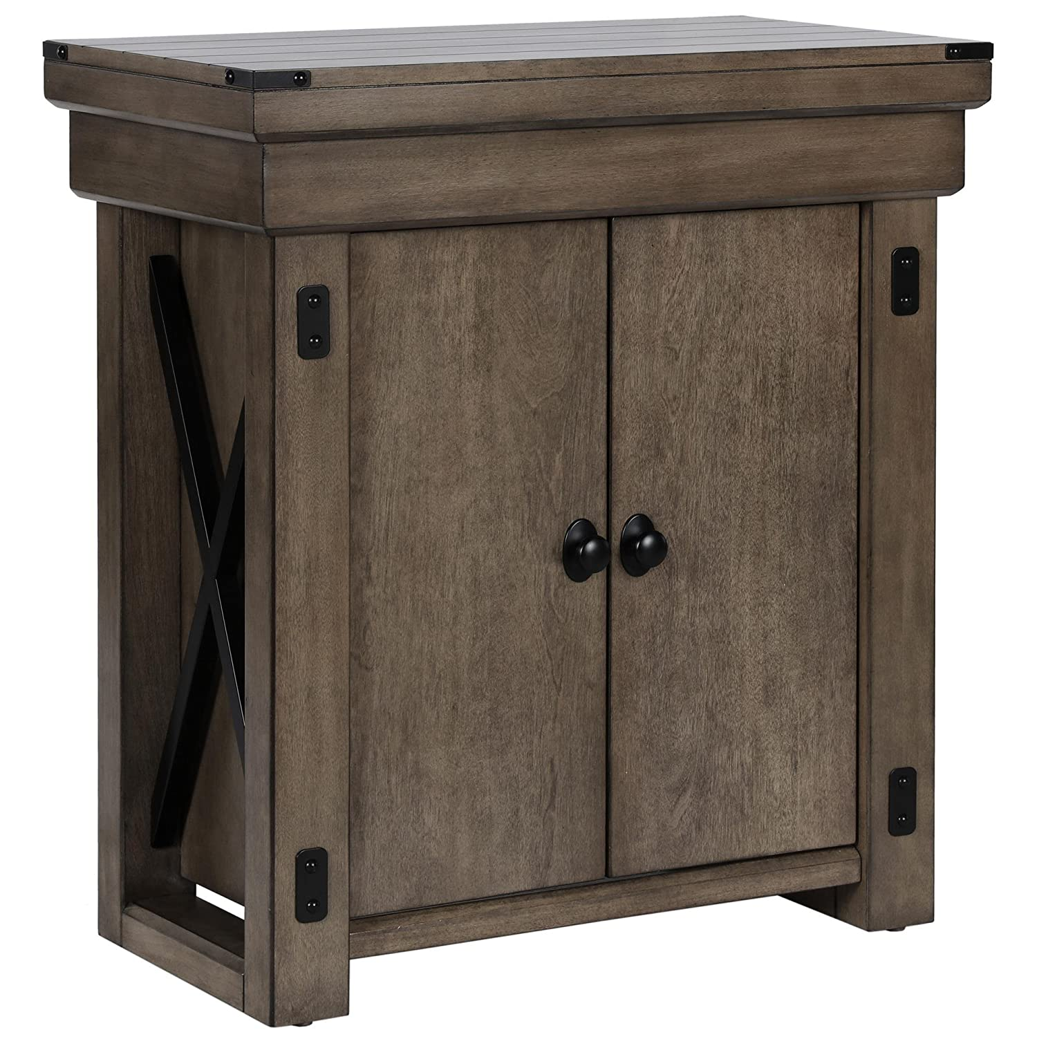 Ameriwood Home Wildwood Aquarium Stand 20 gallon Rustic Gray  sc 1 st  Amazon.com & Aquarium Stands | Amazon.com