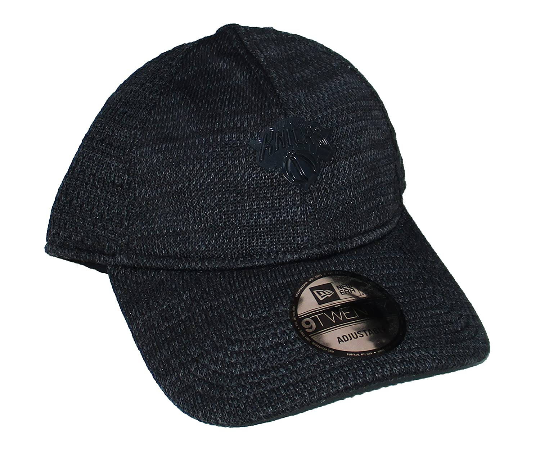 新しいYork Knicks New Era調節可能フリーサイズ帽子キャップ – ブラック   B07CZ22JS7
