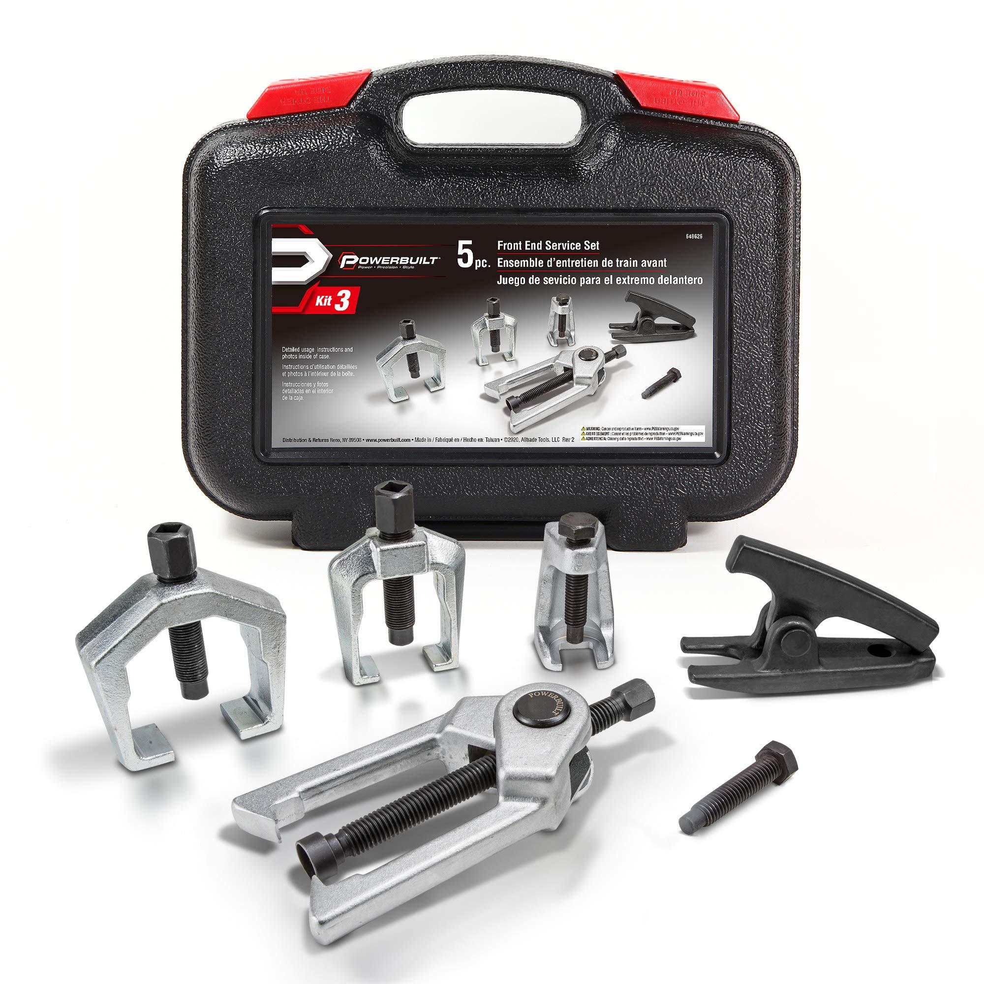 Powerbuilt 648626 6 Pc Front End Service Set Kit 3