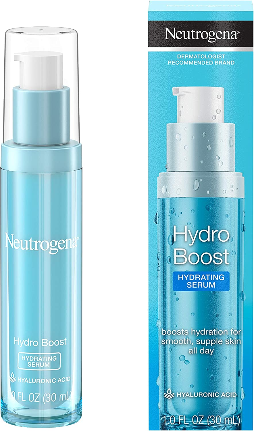 Neutrogena Hydro Boost Hydrating Serum 1 Fl Oz Amazon Ca Beauty
